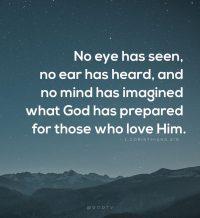 1 Corinthians 2v9